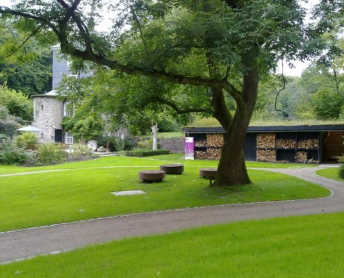 Gartengestaltung Schloss Lüntenbeck