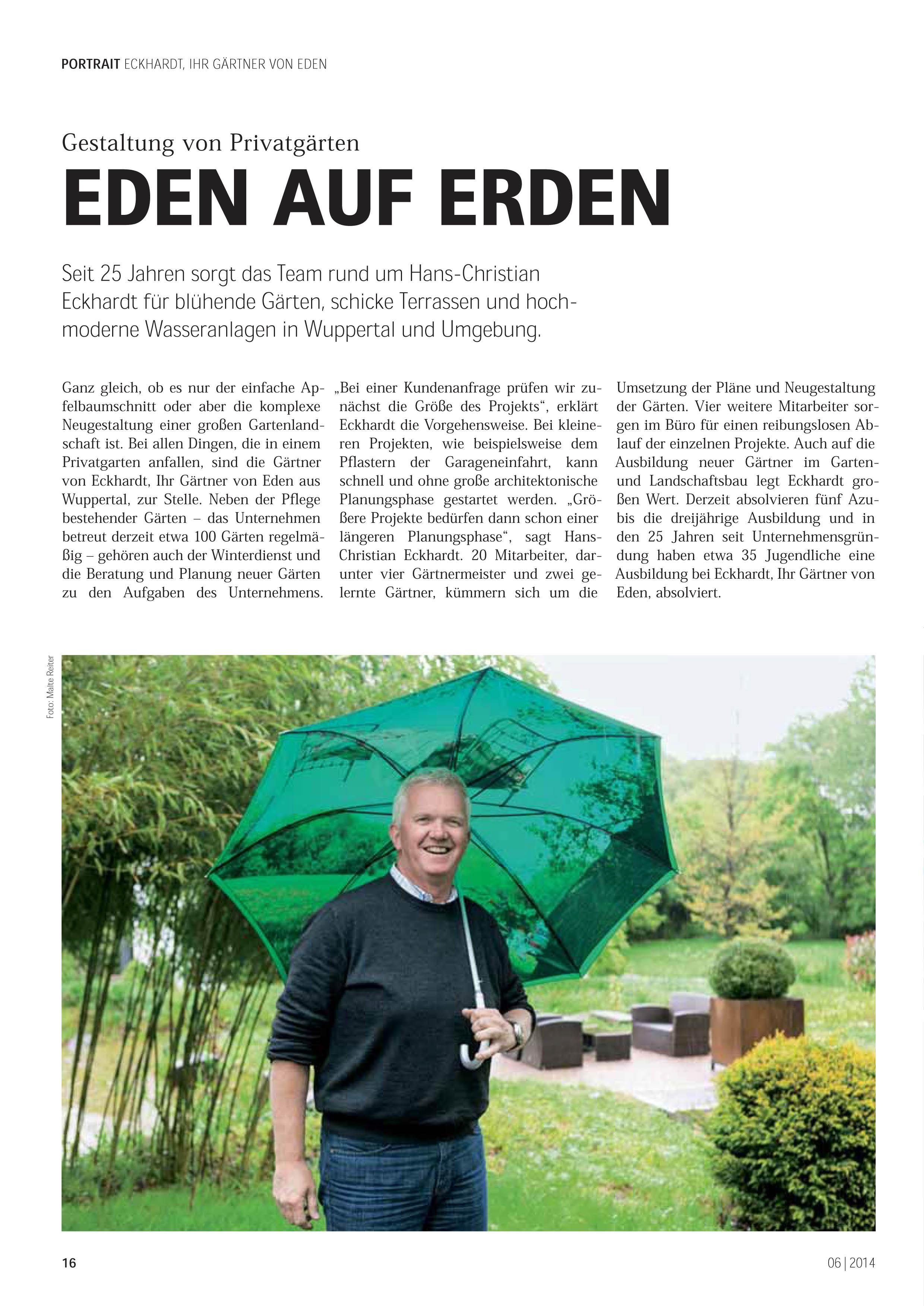Pressemitteilungen Garten Von Eckhardt Gmbh Co Kg
