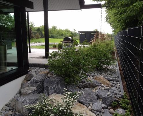 Hausgarten Solingen Naturtsein