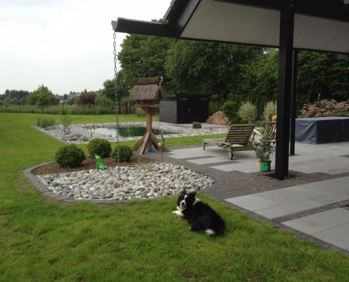 Hausgarten in Ortsrandlage in Solingen