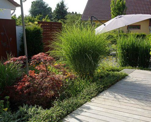 Garten Rheinau Bepflanzung indian Summer