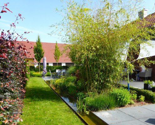 Hausgarten in Rheinau Umgestaltung