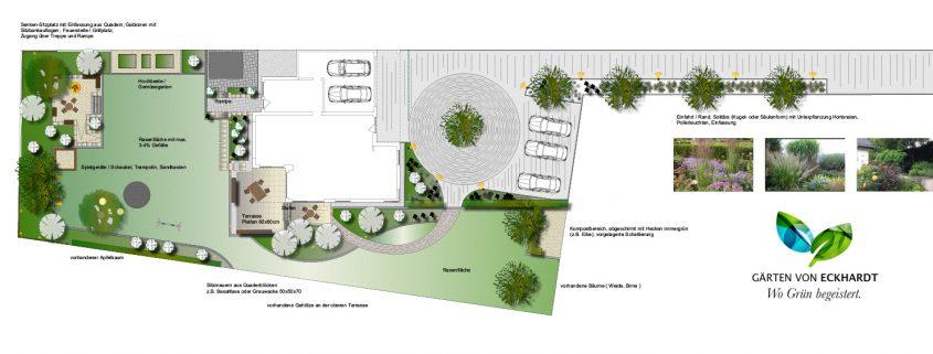 Gartenplanung Entwurfsplanung Solingen