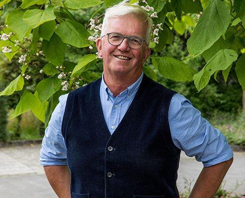 Hans-Christian Eckhardt, Geschäftsführer Gärten von Eckhardt
