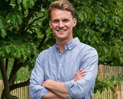 Jan Phillip Eckhardt, Geschäftsführer Gärten von Eckhardt