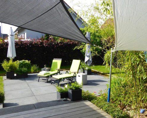 Hausgarten Rheinau Umbau Bepflanzung