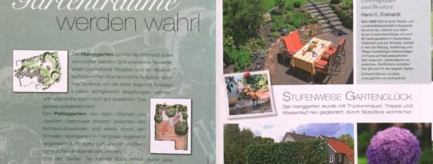 GartenFlora Spezial 2016: Stufenweise Gartenglück