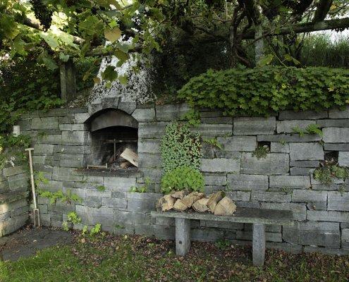 Outdoorküche im Garten