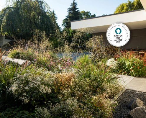"""Gärten des Jahres 2021: """"Hausgarten mit klaren Strukturen"""""""