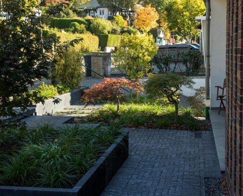 Vorgarten in Wuppertal