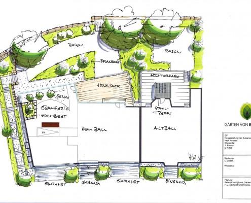 Gartenplanung in Wuppertal und Umgebung