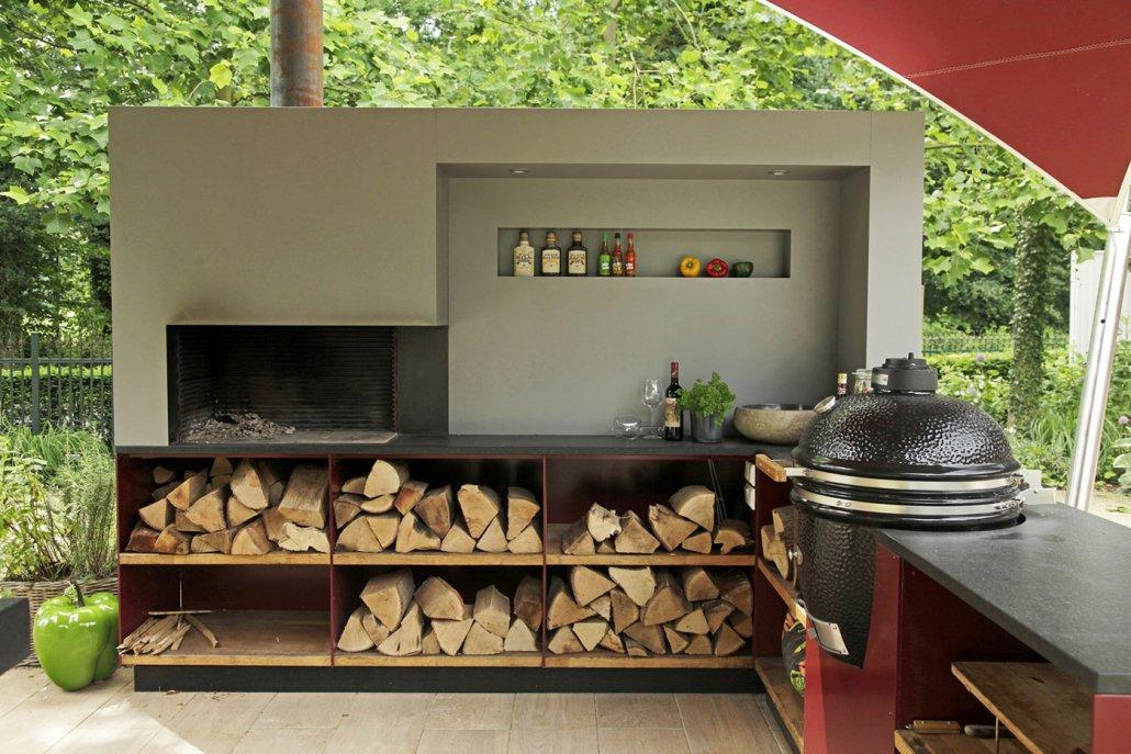 Gartengestaltung Mit Outdoor Küche : Mein schöner garten outdoor küche outdoorküche mit weber kugelgrill