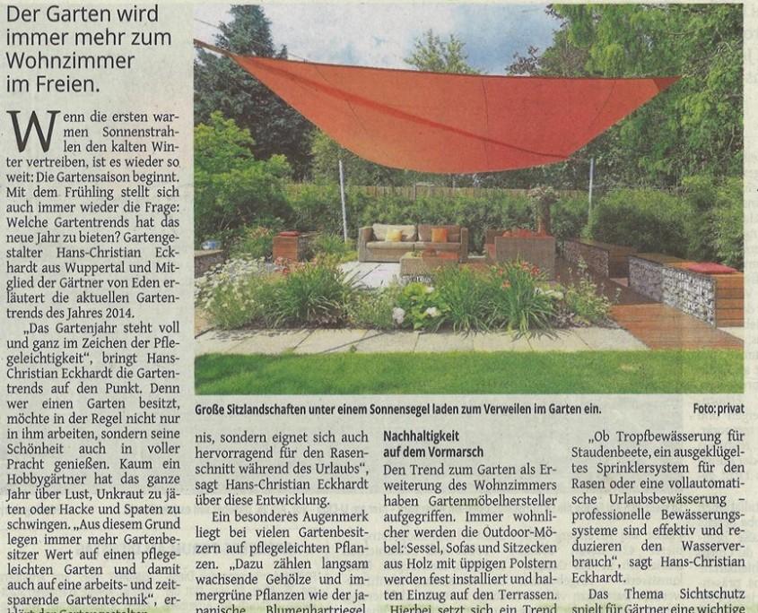 Westdeutsche Zeitung: Die Schönheit genießen