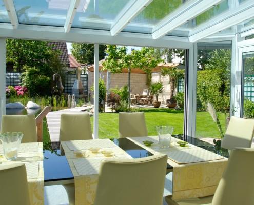 Terrasse Gartenküche