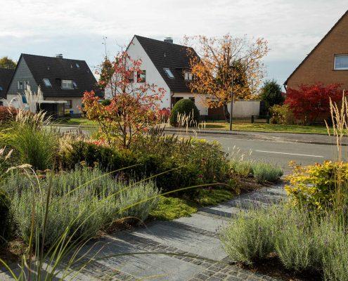 Vorgartengestaltung in Solingen