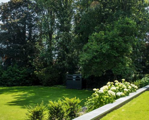 Gartengestaltung einer Wohnanlage in Wuppertal